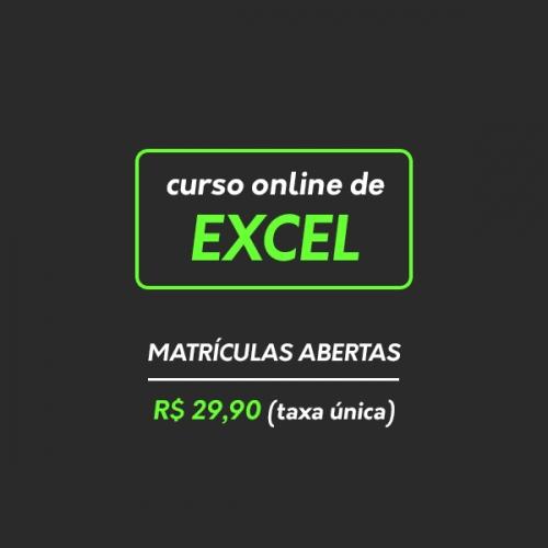 Curso de Excel emagrecer, milionário, rico, bitcoins, moedas, sair da crise, violão, música Adustina