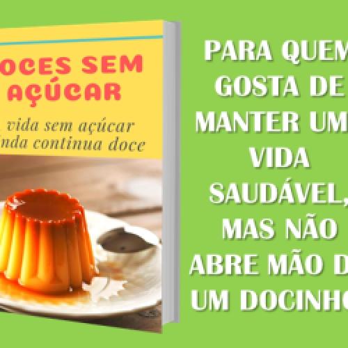 Doces de dieta - A vida ainda continua doce Cursos online, amigurumi, renda extra, dinheiro em casa, crochê Érico Cardoso
