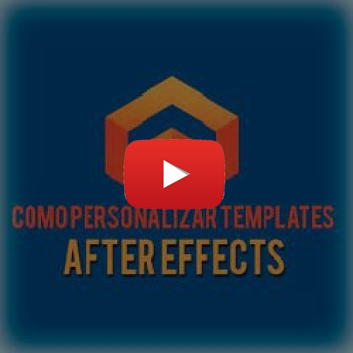 Como Personalizar Templates After Effects Renda Extra