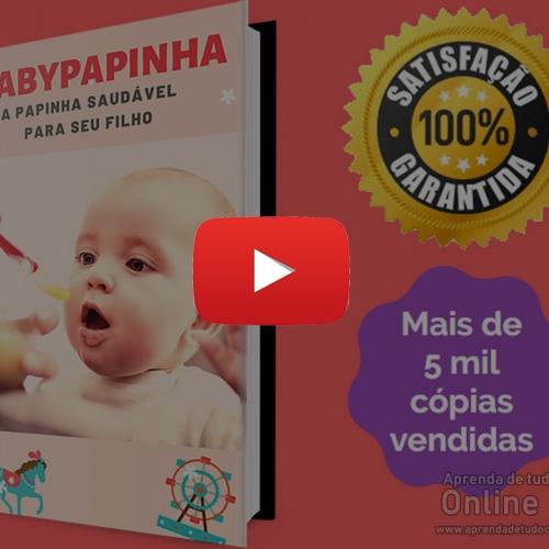 Papinhas Babypapinha – Papinhas saudáveis para seu filho Cursos online, amigurumi, renda extra, dinheiro em casa, crochê